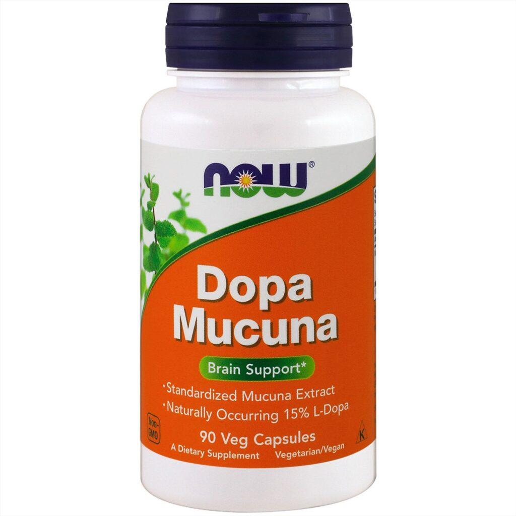 Dopa Mucuna от Now Foods с айхерб от нервов