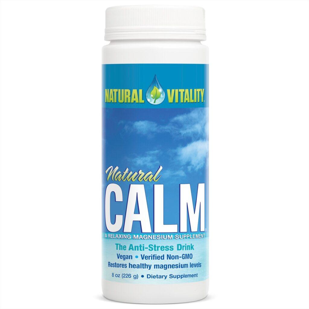Natural Calm от Natural Vitality порошок для успокоительных напитков