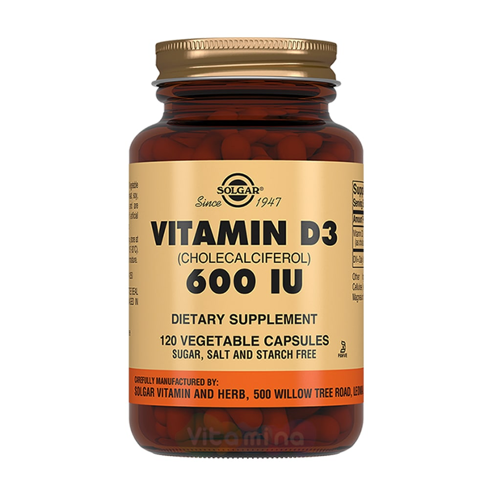 витамин Solgar – Витамин D3